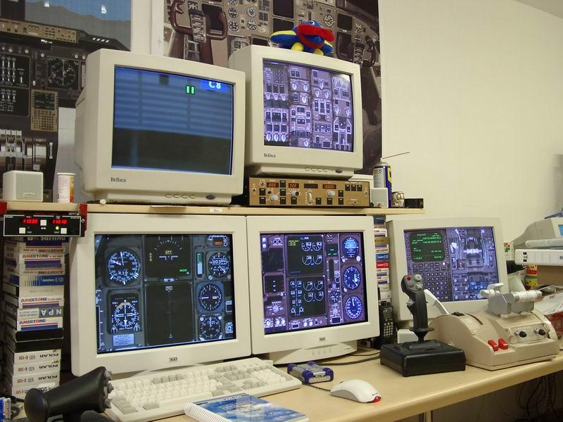 building your own flight simulator cockpit